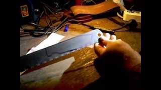 Нож из мехпилы. Часть 1. Читать описание