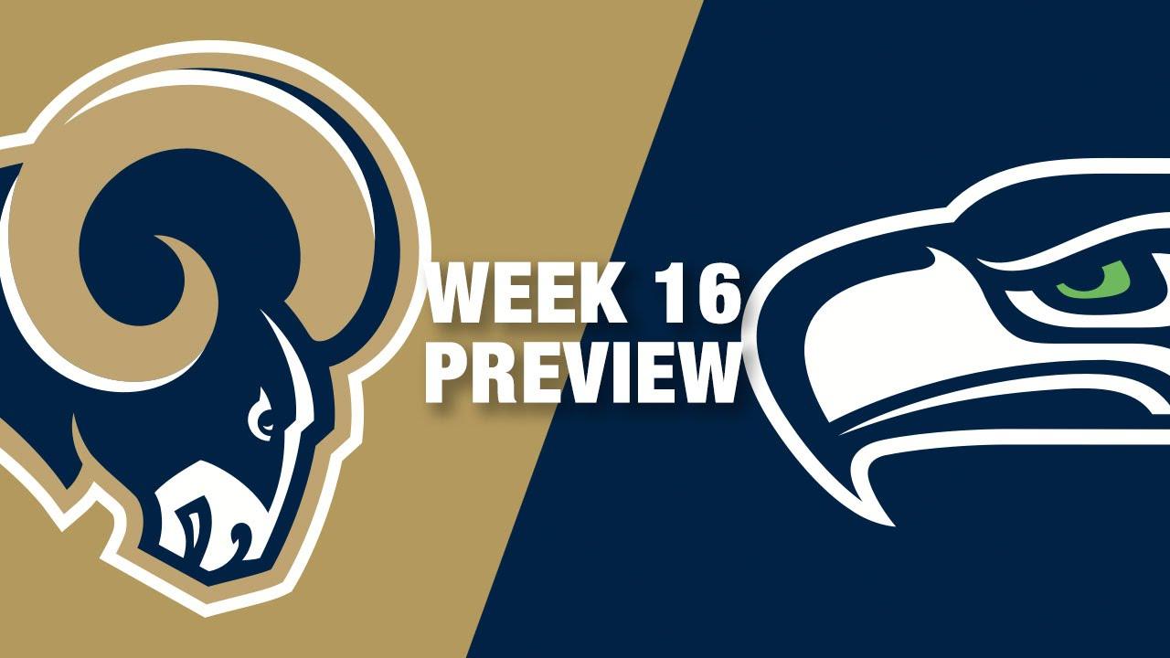 Rams Vs Seahawks Preview Week 16 Nfl Youtube