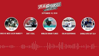SPEAK FOR YOURSELF Audio Podcast (9.18.19) with Marcellus Wiley, Jason Whitlock | SPEAK FOR YOURSELF