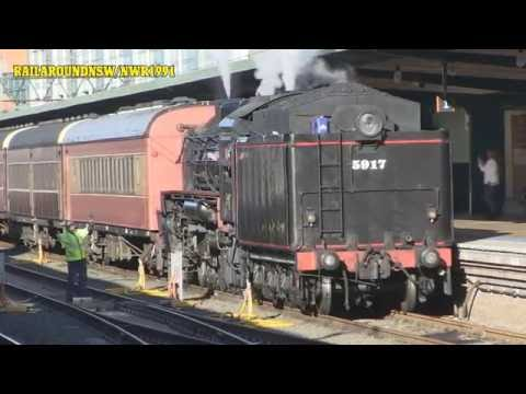 Rail Around New South Wales August 2016