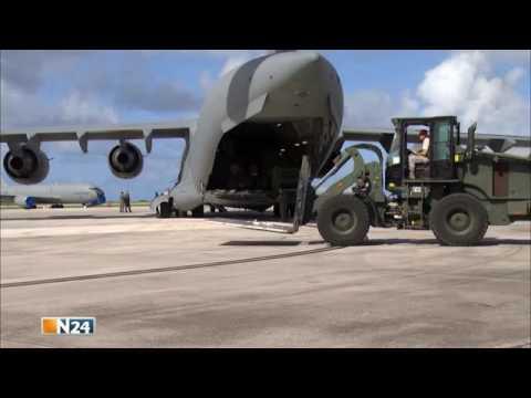 Boeing C 17   Nachschub aus der Luft