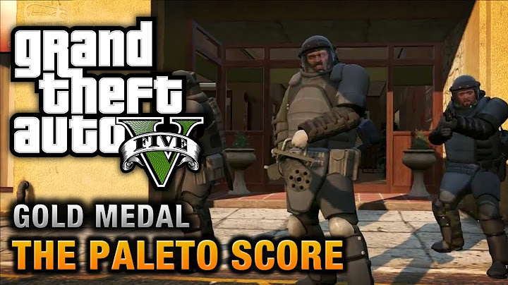 gta 5  mission 52  the paleto score 100 gold medal walkthrough