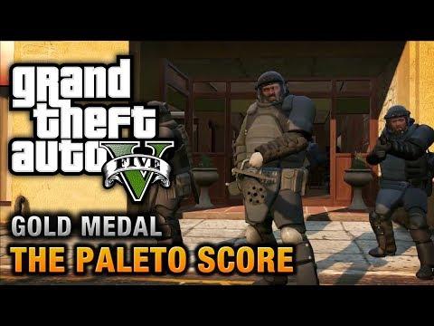GTA 5 - Mission #52 - The Paleto Score [100% Gold Medal Walkthrough]