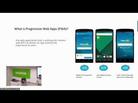 Geekfest: Progressive Web Apps by Saikiran Sheshagiri