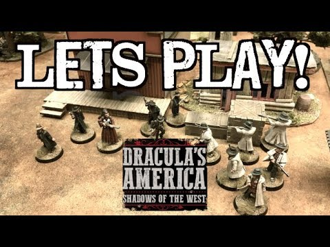 Let's Play! - Dracula's America: Shadows of the West by Osprey Games