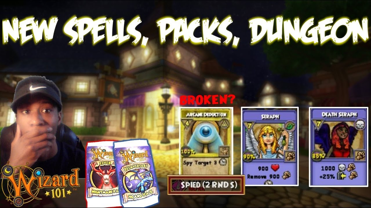 Wizard101 Spoilers: INSANE NEW SPELLS, LVL 130 PACKS, NEW DUNGEON, and  BUNDLES!