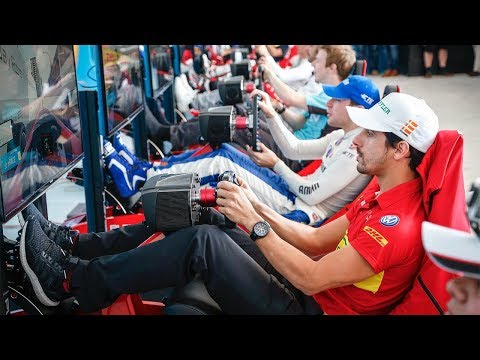 Racing Drivers Vs Fans... Santiago E-Race! - ABB FIA Formula E Championship