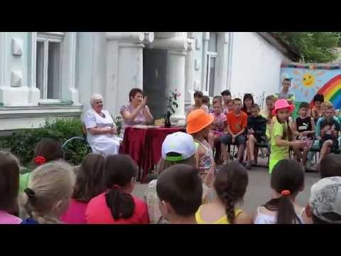 Девочки танцуют под Барбарики (санаторий Южный)