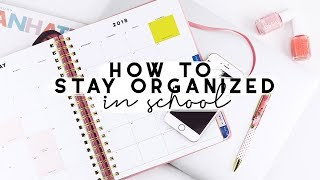 How I Time Manage + Stay Organized in College | Reese Regan