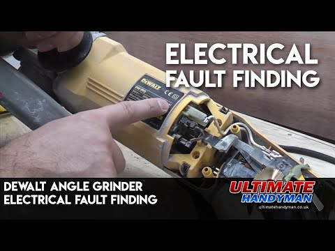 dewalt buffer power cord replacement youtube rh youtube com Wiring Diagram Symbols Residential Electrical Wiring Diagrams