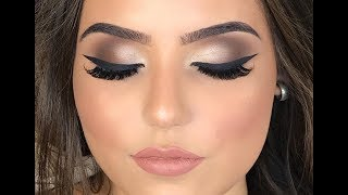 Maquiando cliente #23: Técnica Esfumado em C para Noivas com produtos Mary Kay