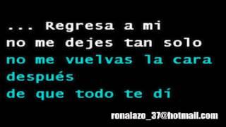 Vicente Ferandez Ft Tony Bennett - Return To Me - Karaoke