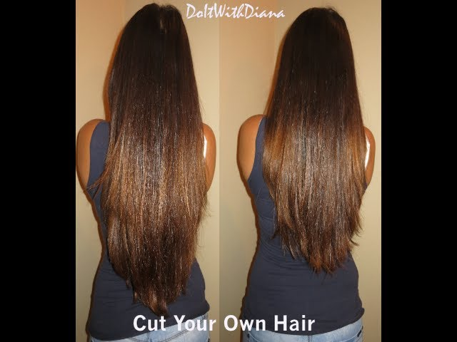 How To Cut Layers In Your Own Hair Tutorial Lifeasdiana