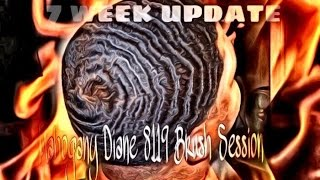 How to get 360 waves: 7 week update Mahogany Diane 8119 session