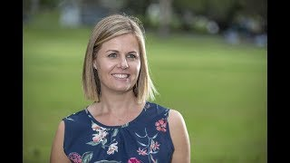 Southern Cross University graduate and paediatric occupational therapist Kristy Harris