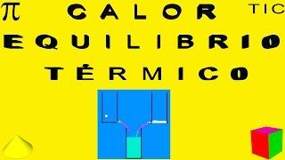 CALOR.  EQUILIBRIO TÉRMICO