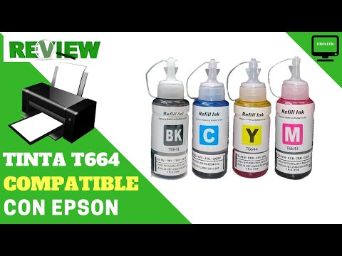 Tinta americana T664 Premium X 4 Colores compatible con EPSON - Droleek review