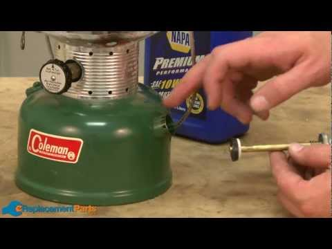 How to Replace the Pump on an Older Style Coleman Lantern--A