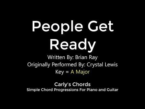 People Get Ready Crystal Lewis Chords Key A Maj Youtube