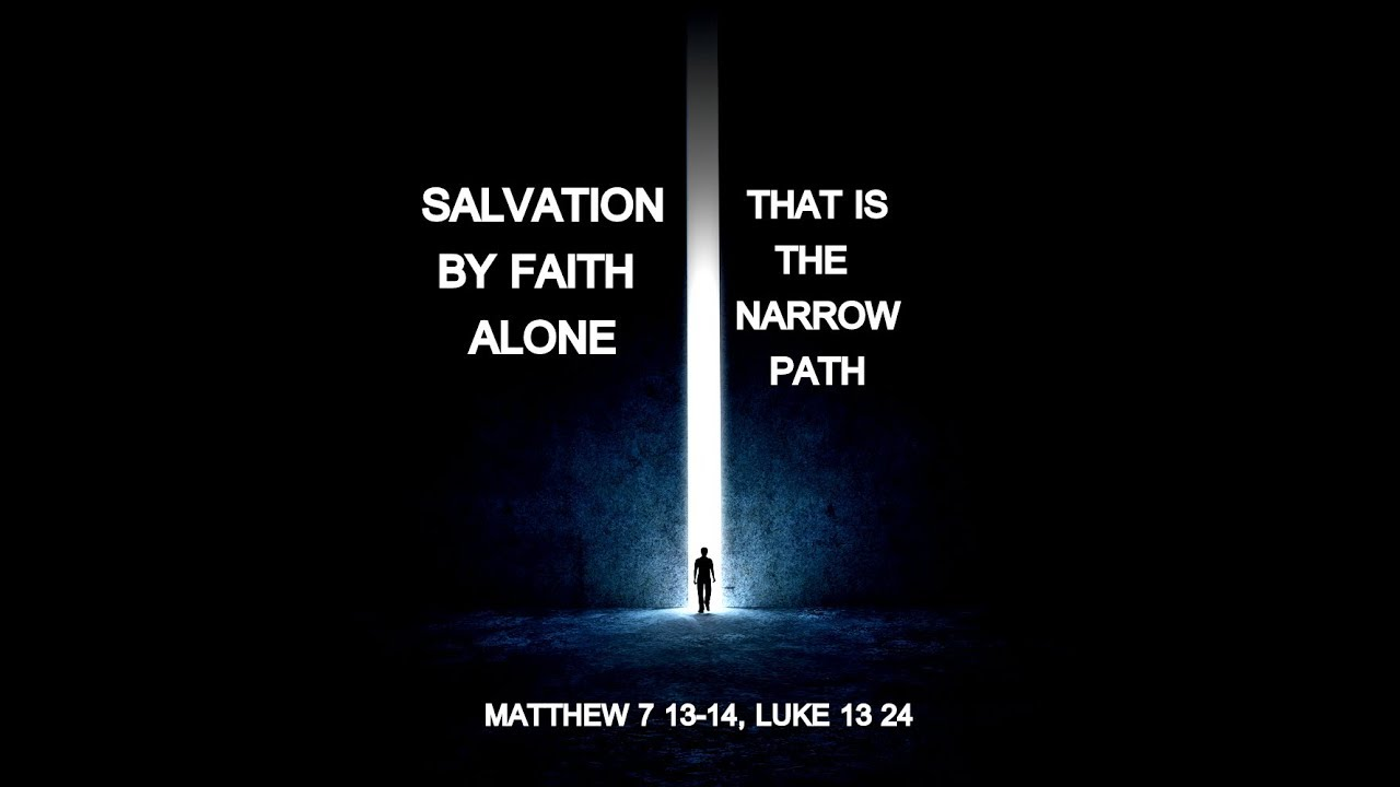 The Context Of The Wide And Narrow Paths Gate Youtube