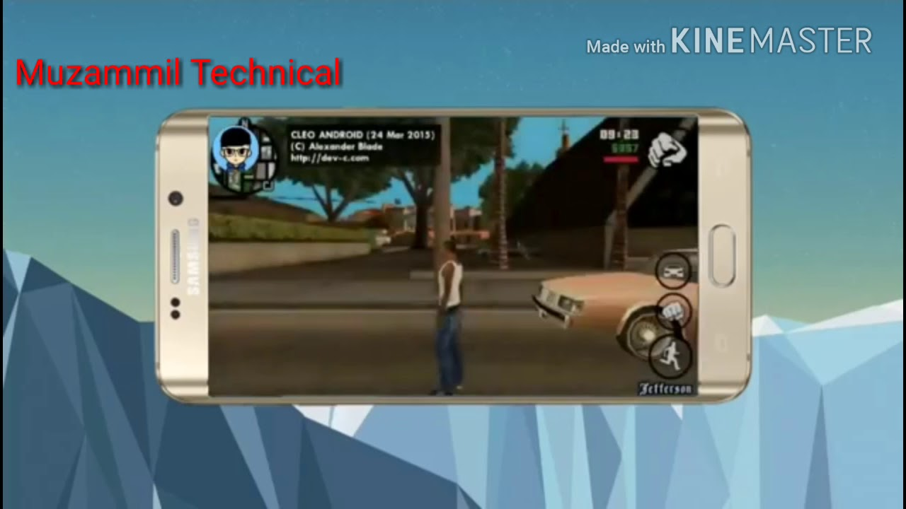 50 MB   GTA SAN ANDREAS HIGHLY COMPRESSED IN ANDROID PHONE DOWNLOAD ONLY 50  MB