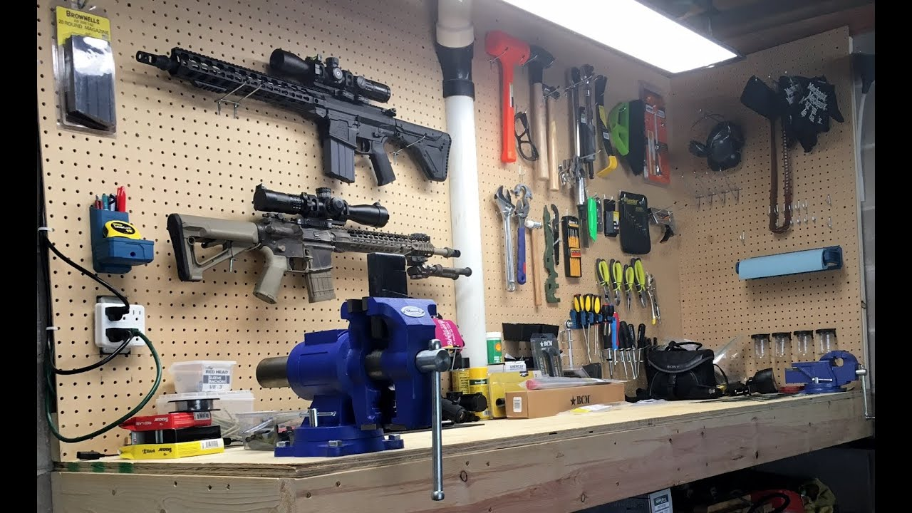 My Quot Gunsmithing Quot Workbench Materials And Specs Youtube