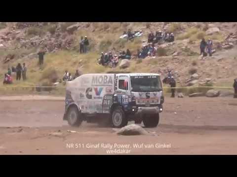 NR 511 DAKAR 2015 Ginaf Rally Power. Wuf van Ginkel