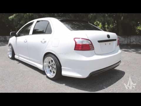2006-up Toyota Yaris (Vios / Belta) Body Kit | JDM | Hellaflush | King Fiber Design