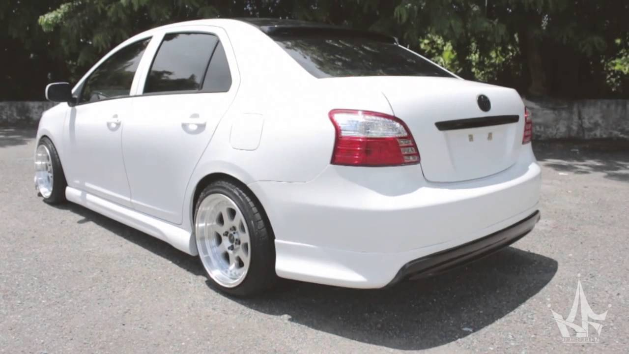 2006 Up Toyota Yaris Vios Belta Body Kit Jdm