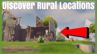 Discover Rural Locations Daily Quest | Fortnite Save The World Guide