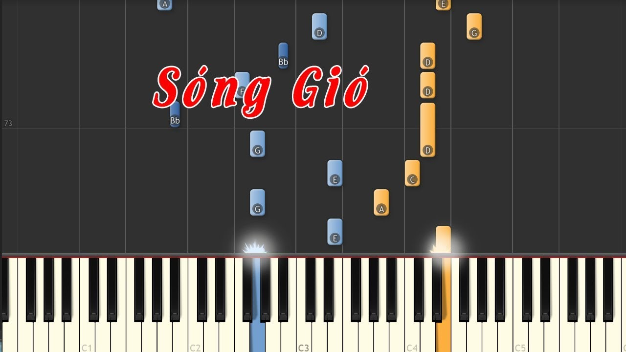 SÓNG GIÓ –  K-ICM x JACK – PIANO TUTORIAL + SHEET HỢP ÂM