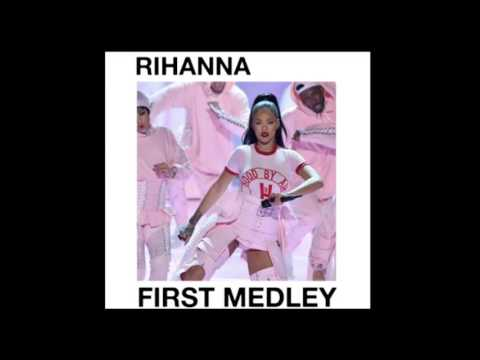 Rihanna  - First Medley VMA 2016 - (Studio Version)