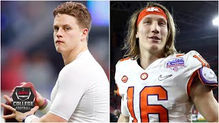 Joe Burrow or Trevor Lawrence: Who has the X-Factor? | College Football Live
