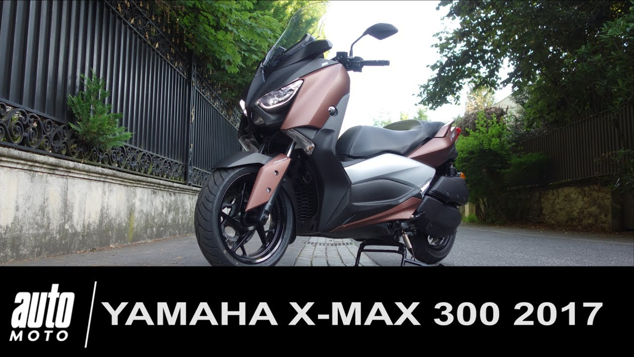 2017 yamaha x max 300 essai video le prix de la polyvalence youtube. Black Bedroom Furniture Sets. Home Design Ideas