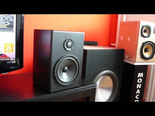 My new Monacor 2-way audio system