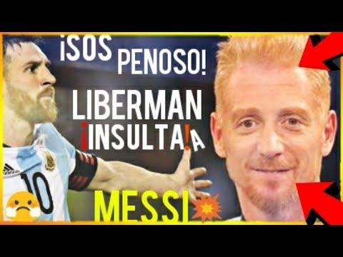 ¡¡MARTÍN LIBERMAN INSULTA A MESSI TRAS ARGENTINA 1 - 3 VENEZUELA!! ¡VERGONZOSO! FCB NOTICIAS thumbnail