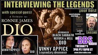Vinny Appice Celebrates the Spirit of Ronnie James Dio