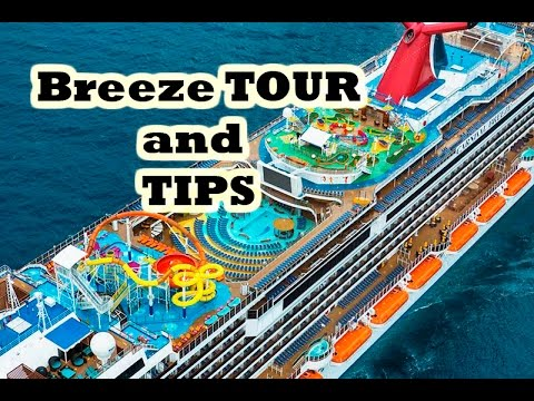 Carnival Breeze Tour And Tips Youtube