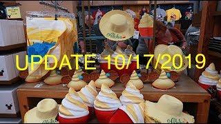 Disney Character Warehouse Update 10/17/2019