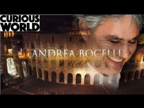 ANDREA BOCELLI & SARAH BRIGHTMAN - con te partirò LIVE