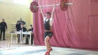 Шутилов Иван, 14 лет Толчок 90 кг вес.кат. 69 кг