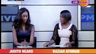 PMLIVE CelebrityEdition: Judith Heard Co-anchors news on Urban TV[2/4]