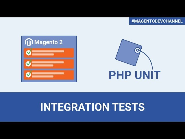 How to create Integration Tests in Magento 2.3