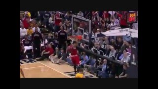 "Derrick Rose top ten dunks- ""All of the Lights"" Kanye West"