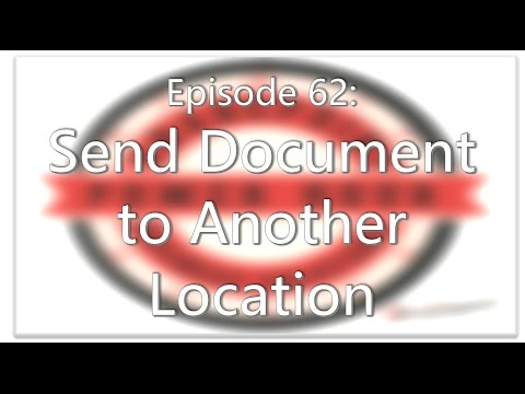 SharePoint Power Hour Episode 62: Send Document To Another Location