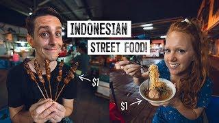 Bali's CHEAP & DELICIOUS Street Food Market Tour! - Pasar Sindhu Night Market (Sanur)