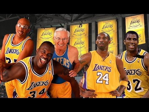 Greatest Lakers of All-Time!