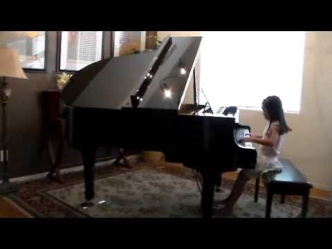 River Flows in You by Shannon (7 yr) with Piano Music sheet