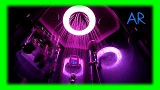 Самодельная подсветка в душевой кабине / гидробоксе из светодиодной ленты RGB с радиоконтроллером.(Модернизация подсветки в гидробоксе / душевой кабине. Установка светодиодной ленты RGB с радио контроллером...., 2015-02-01T05:46:51.000Z)