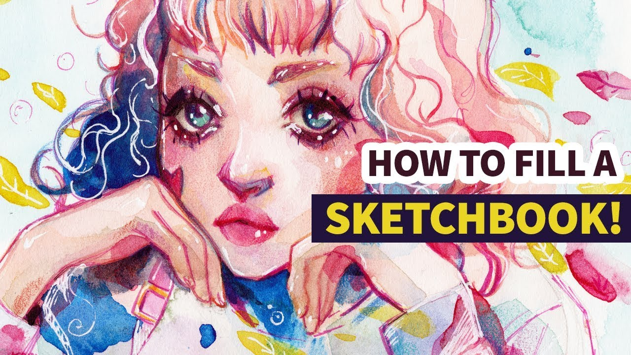How To Fill A Sketchbook! + Watercolor Speedpaint  Youtube. Nursing Home Job Description Resume. Sample Resume Legal Secretary. Formatting Resume In Word. Objective Samples For A Resume. Radio Personality Resume. Sample Of Simple Resume For Students. Structure Of A Resume. Security Job Resume Objective